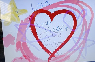 Jesus's Love group drawing